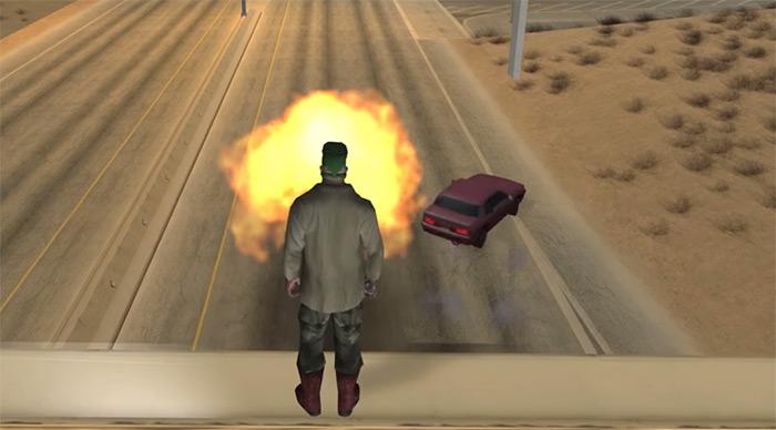 GTA San Andreas grenades