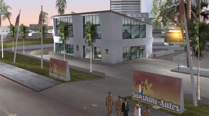 Sunshine Autos Vice City property