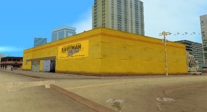 Vice City Kaufman Cabs property