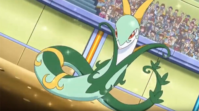 Serperior snake monster