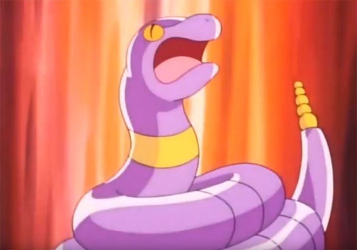 Ekans anime pokemon preview