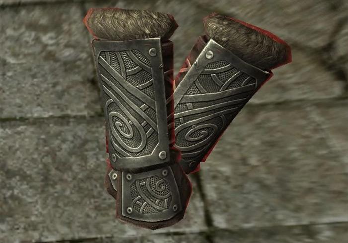 Ironhand Gauntlets in Skyrim
