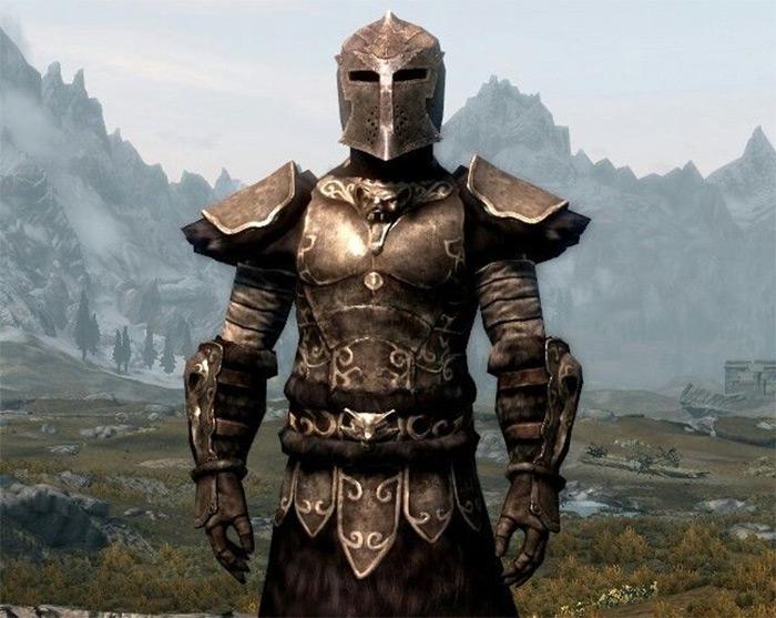 Wolf Gauntlets in Skyrim