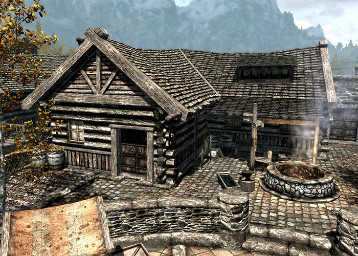The Scorched Hammer home Skyrim