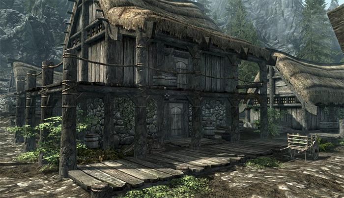 Riverwood Trader home Skyrim