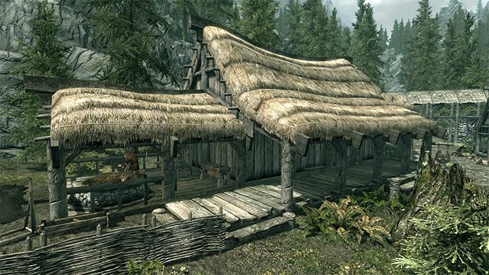 Alvor and Sigrid house exterior skyrim
