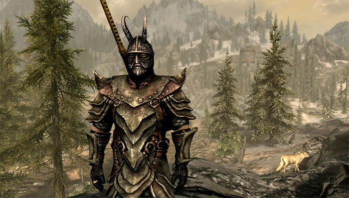 Orcish Armor demo in Skyrim