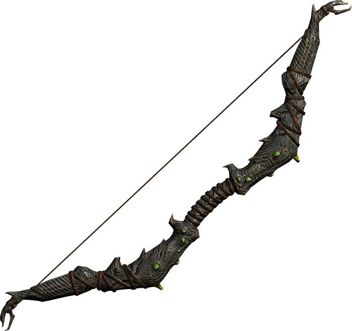 Falmer Supple Bow in Skyrim