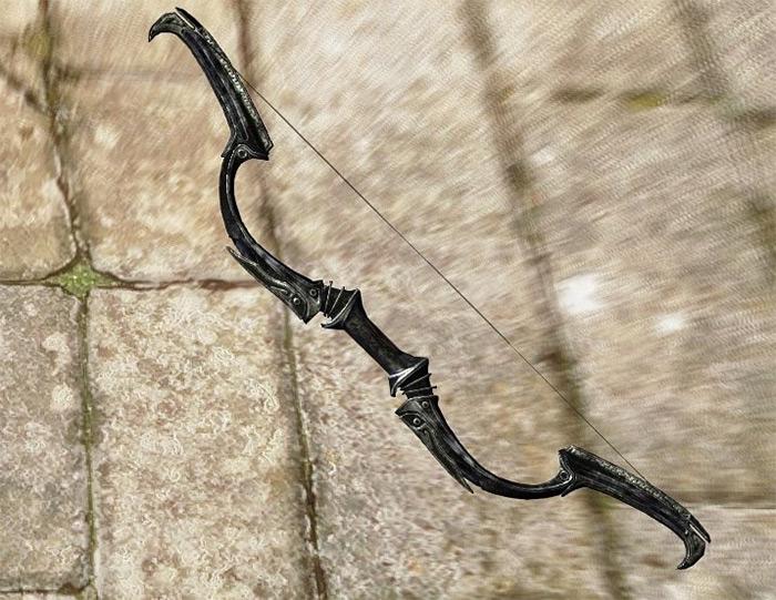 Dwarven Blackbow of Fate skyrim