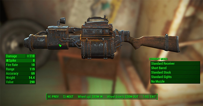 Railway Rifle in Fallout 4