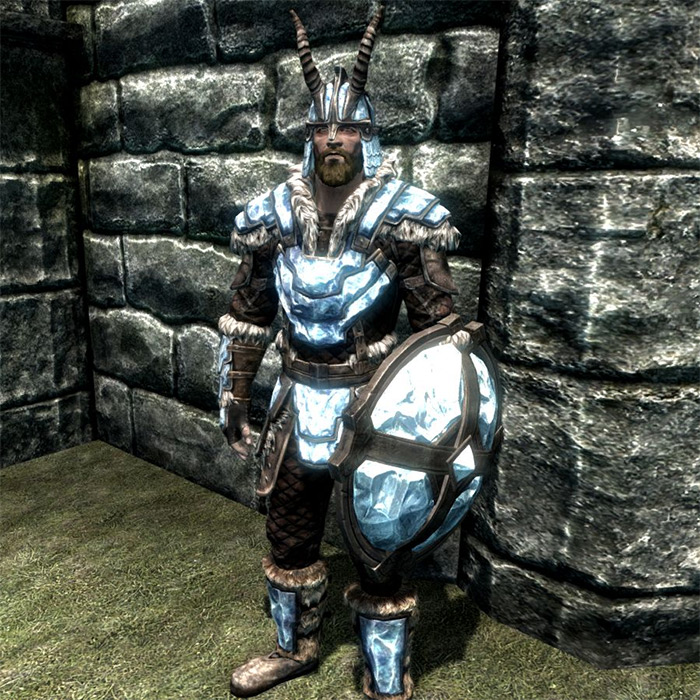Stalhrim Light Armor in Skyrim