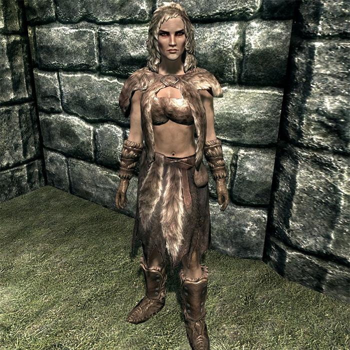 Fur Armor light set Skyrim