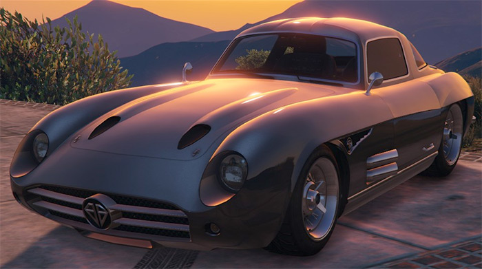 Stirling GT car in GTA 5