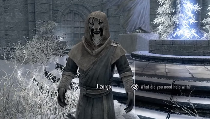 J'Zargo Skyrim follower