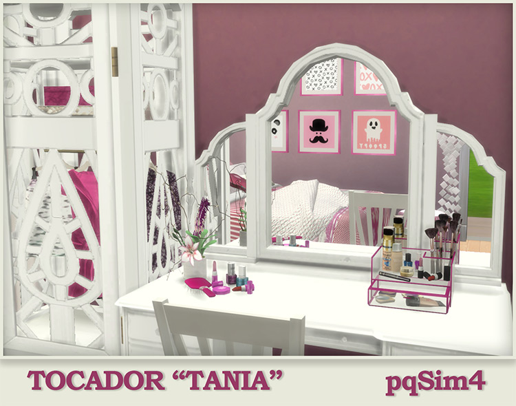 """Dressing Table """"Tania"""" for Sims 4"""