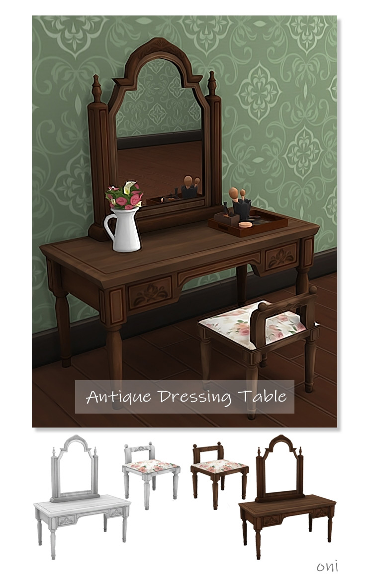 Antique Dressing Table TS4 CC