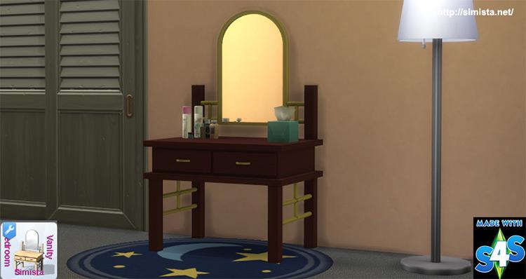 Bedroom Vanity Sims 4 CC