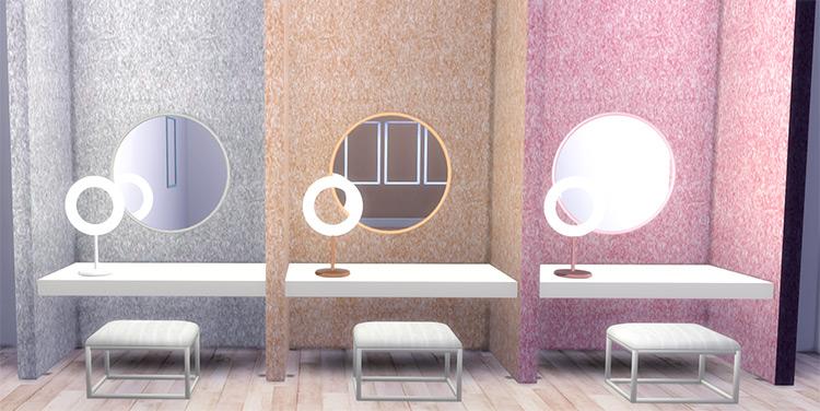 Beauty Room Floating Dressing Table TS4 CC