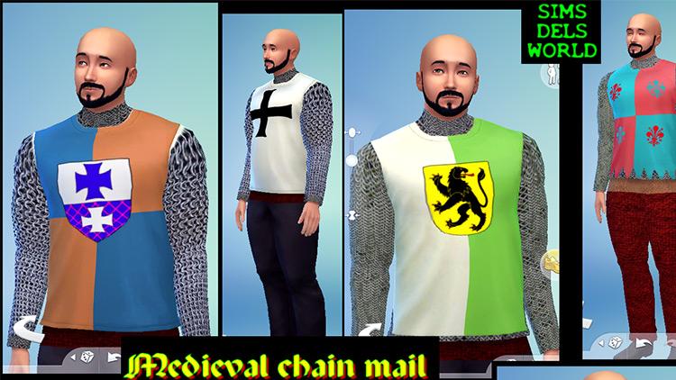 Medieval Chain Mail TS4 CC