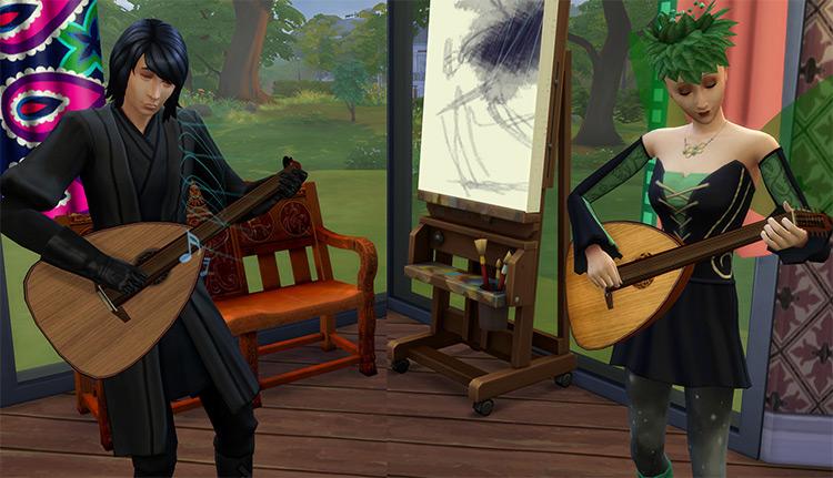 Lute Sims 4 CC