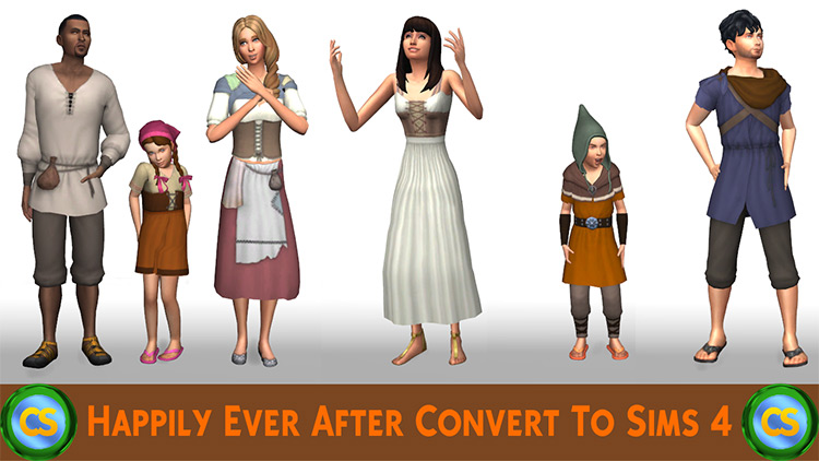 Happily Ever After Conversion TS4 CC