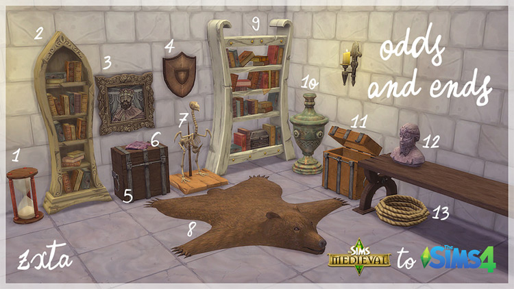 Odds and Ends Sims 4 CC