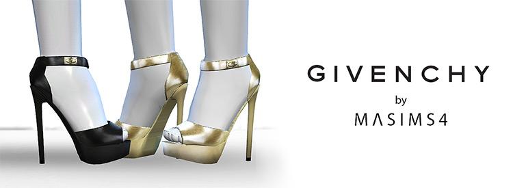 Givenchy Shark Tooth Sandals TS4 CC
