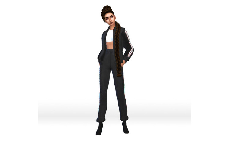 Givenchy Tracksuit Sims 4 CC