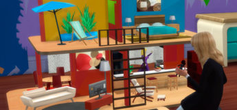 Sims 4 oversized dollhouse toy preview