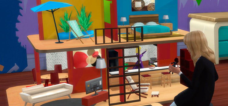 Custom Sims 4 Dollhouse CC (All Free To Download)