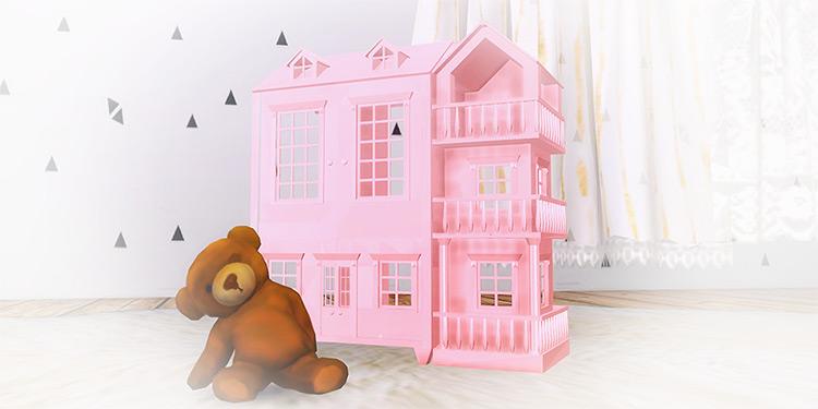 Halosims Dollhouse / Sims 4 CC