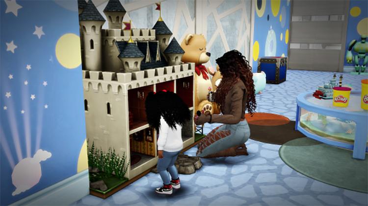 Dollhouse Overrides / Sims 4 CC