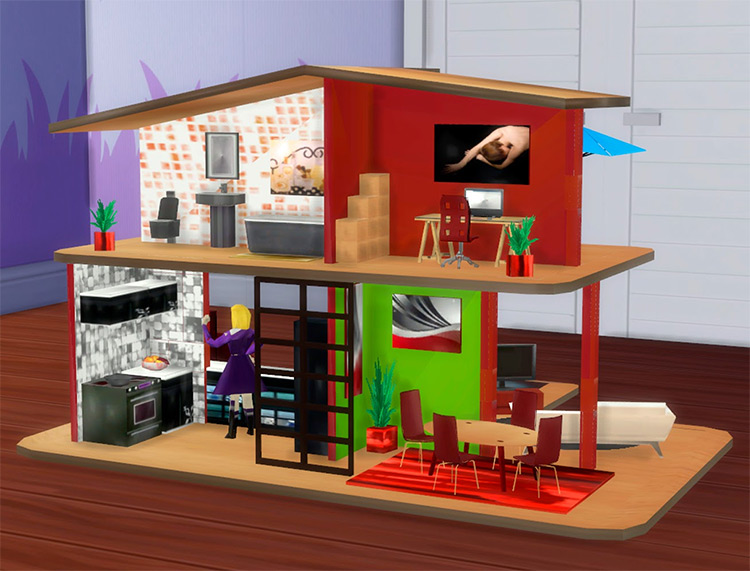 Big Dollhouse for The Sims 4