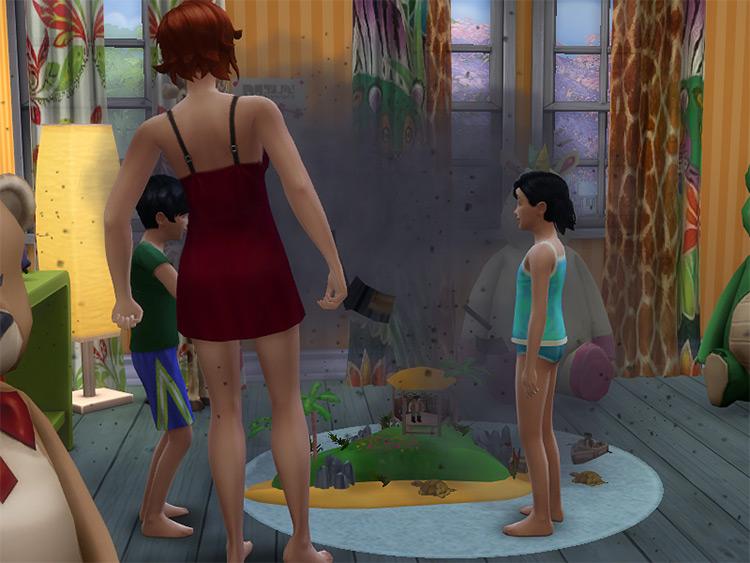 Playmo Pirate Island Dollhouse / Sims 4 CC