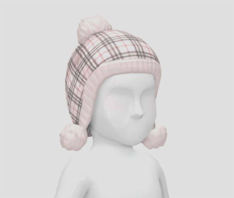 Burberry Hat for Toddlers / Sims 4 CC
