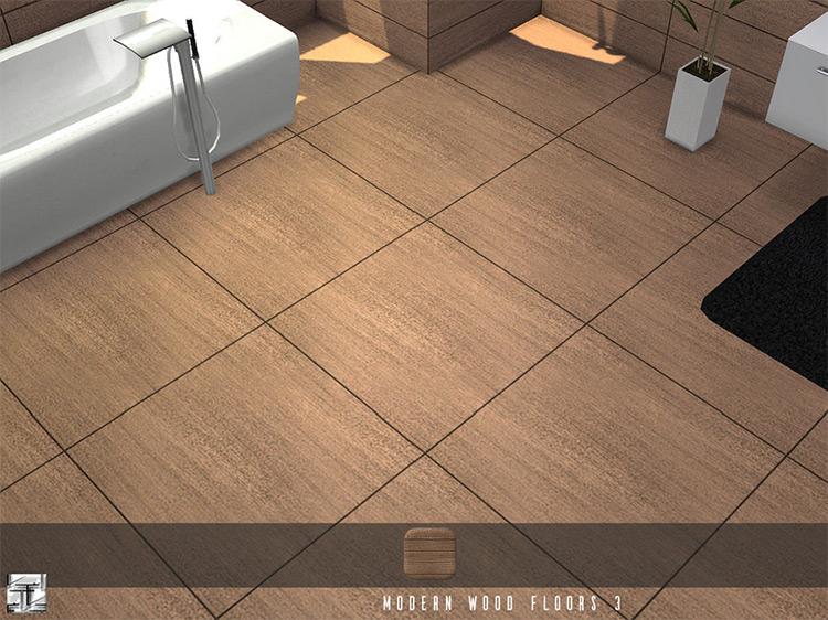 Modern Wood Floors for The Sims 4