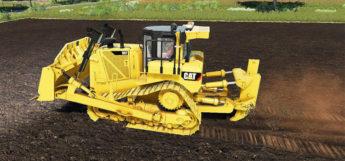 Caterpillar D8T Bulldozer Mod for FS19
