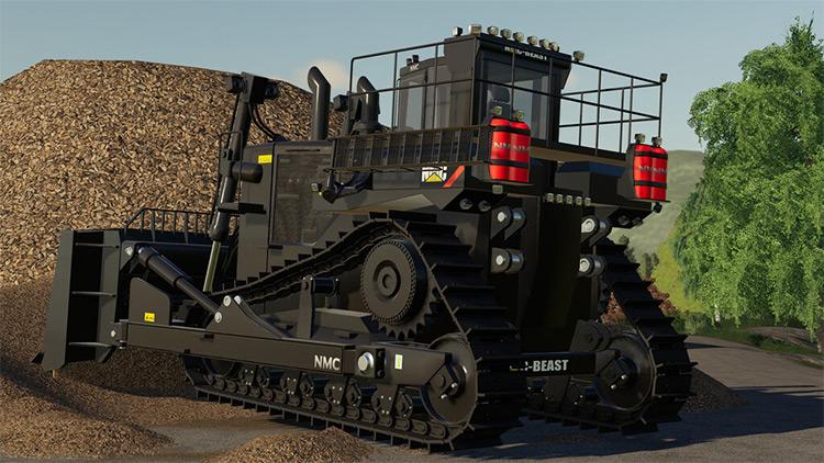 CAT NMC D-11 Bulldozer Mod for FS19