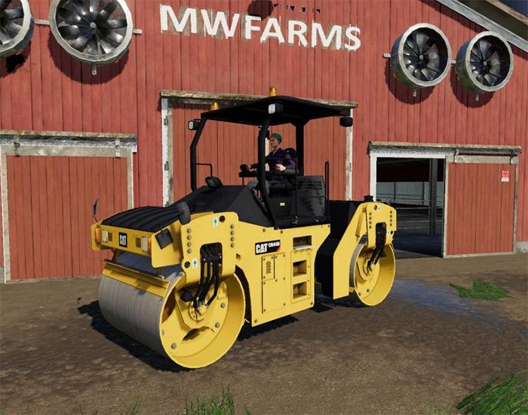 Roller Mod / Caterpillar CB44B for FS19