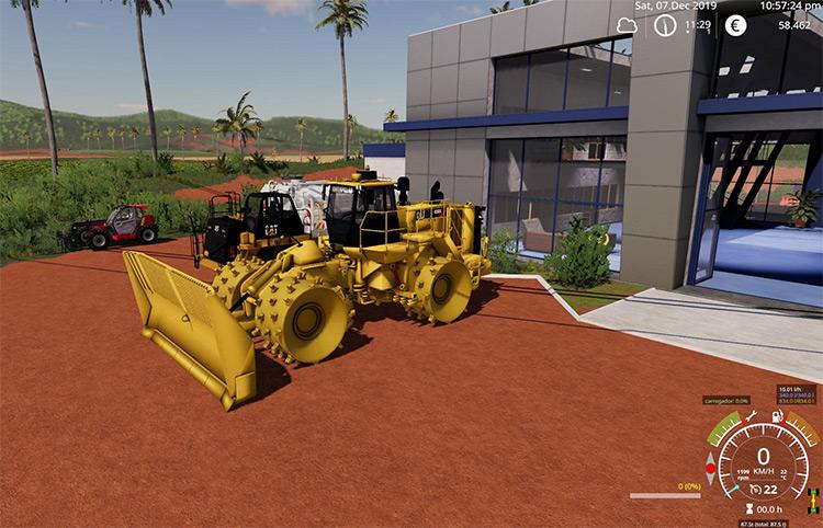 Caterpillar 836K Mod for FS19