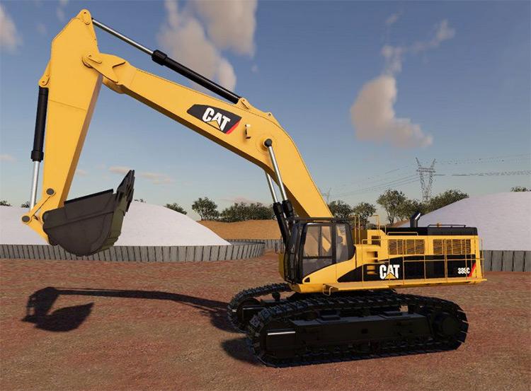 Caterpillar 385C Excavator Mod for FS19