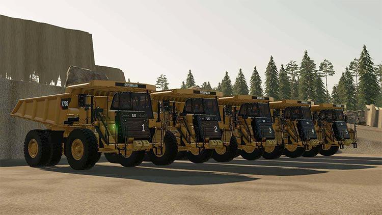 Caterpillar 773G Truck Mod for FS19