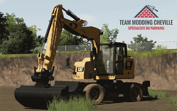 Caterpillar M315F Custom Excavator Mod / FS19