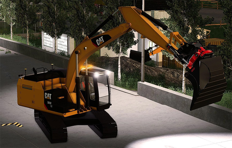 Caterpillar 311F Machinery Preview from FS19