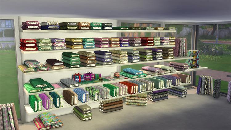 Fabric Bolts Conversion / Sims 4 CC