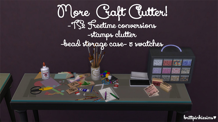 Love 2 Craft Set / TS4 CC