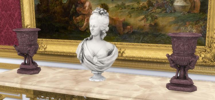 Monumental Vase CC Set for The Sims 4