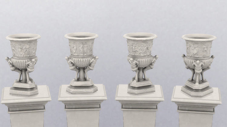 Monumental Vase for The Sims 4