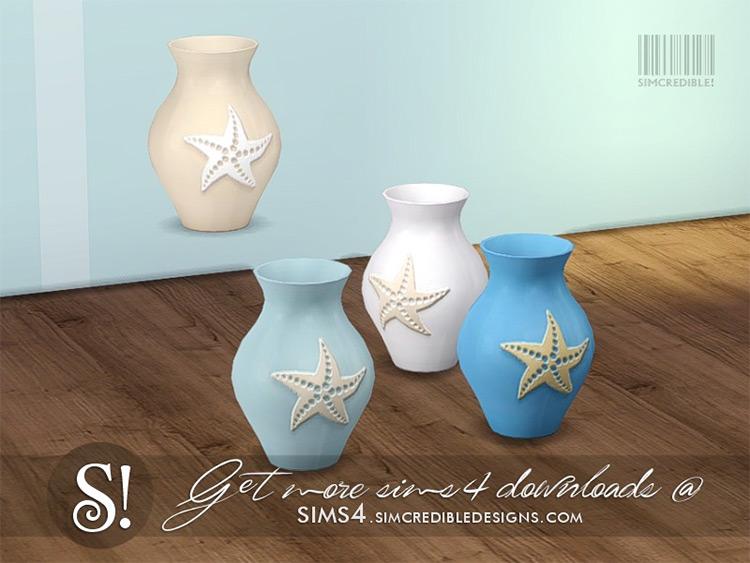 Coastal Living Vase / Sims 4 CC