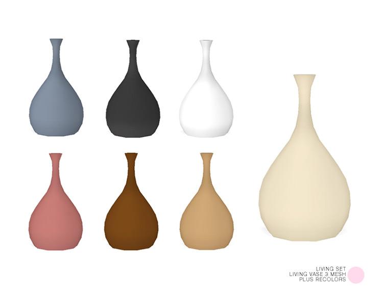Living Vase 3 Mesh / Sims 4 CC
